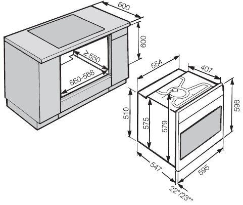 miele h 6267 b culinart gourmet ml. Black Bedroom Furniture Sets. Home Design Ideas