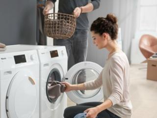 Функция освещения барабана в стиральных машинах Miele
