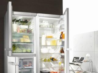Ручка с механизмом Clik2open в холодильниках Miele