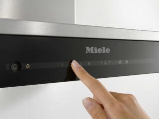 Автоматическое отключение интенсивной ступени мощности в вытяжках Miele